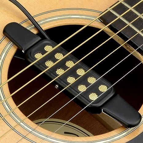 Guitarra Pastilla pickup, 12 agujeros guitarra pickup para ...