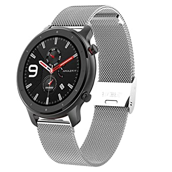 Amazon.com: AGUIguo Stainless Steel Strap Replacement Strap ...