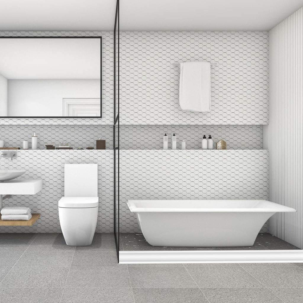 Yamy Bathroom And Kitchen Water Retaining Strip Waterproof Water Flow Block Seal Strip Self Adhesive Shower