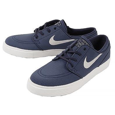 Zapatillas de lona Nike SB Zoom Stefan Janoski para hombre, azul oscuro, color Azul, talla 40.5 EU: Amazon.es: Zapatos y complementos