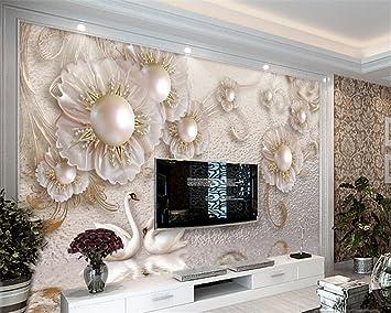 Lhdlily 3d Papier Peint Wallpaper Fresque Mural Fond D Ecran