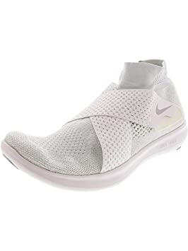 sports shoes 8fafe 86a4a Nike Free RN Motion FK 2017 Chaussures de Trail Homme, Blanc (White/Wolf