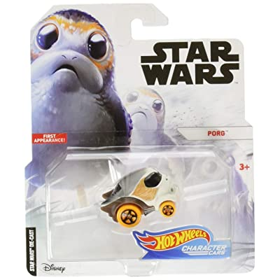 Hot Wheels Star Wars Porg Vehicle: Toys & Games