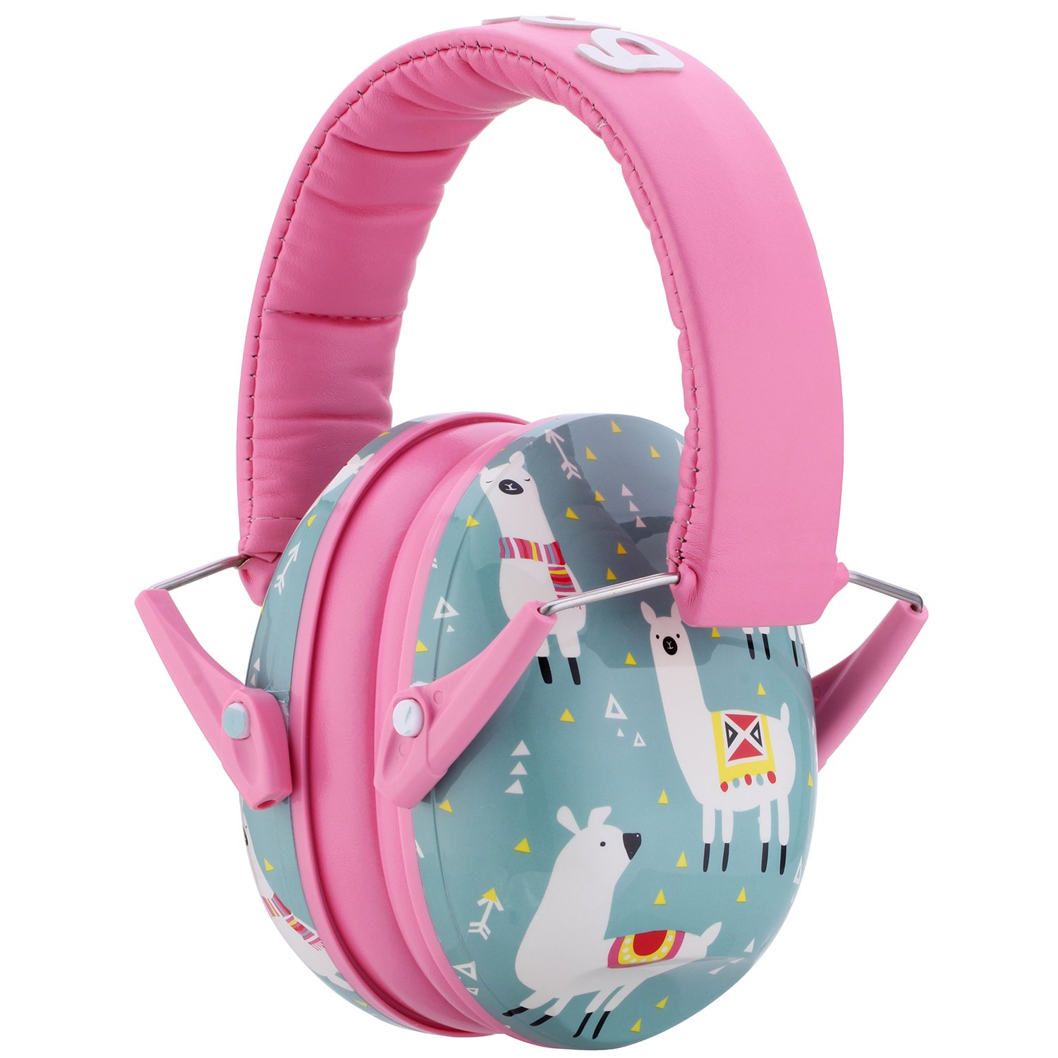 Snug Kids Earmuffs/Hearing Protectors – Adjustable Headband Ear Defenders for Children and Adults (Llamas) by Snug (Image #1)