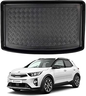 Nomad Auto Tailored Fit Durable Black Boot Liner Tray Mat Protector for Kia Stonic