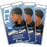 WaveBuilder Wave Cap | Promotes Healthy and Uniform Hair Waves, 6 Pack (Black)
