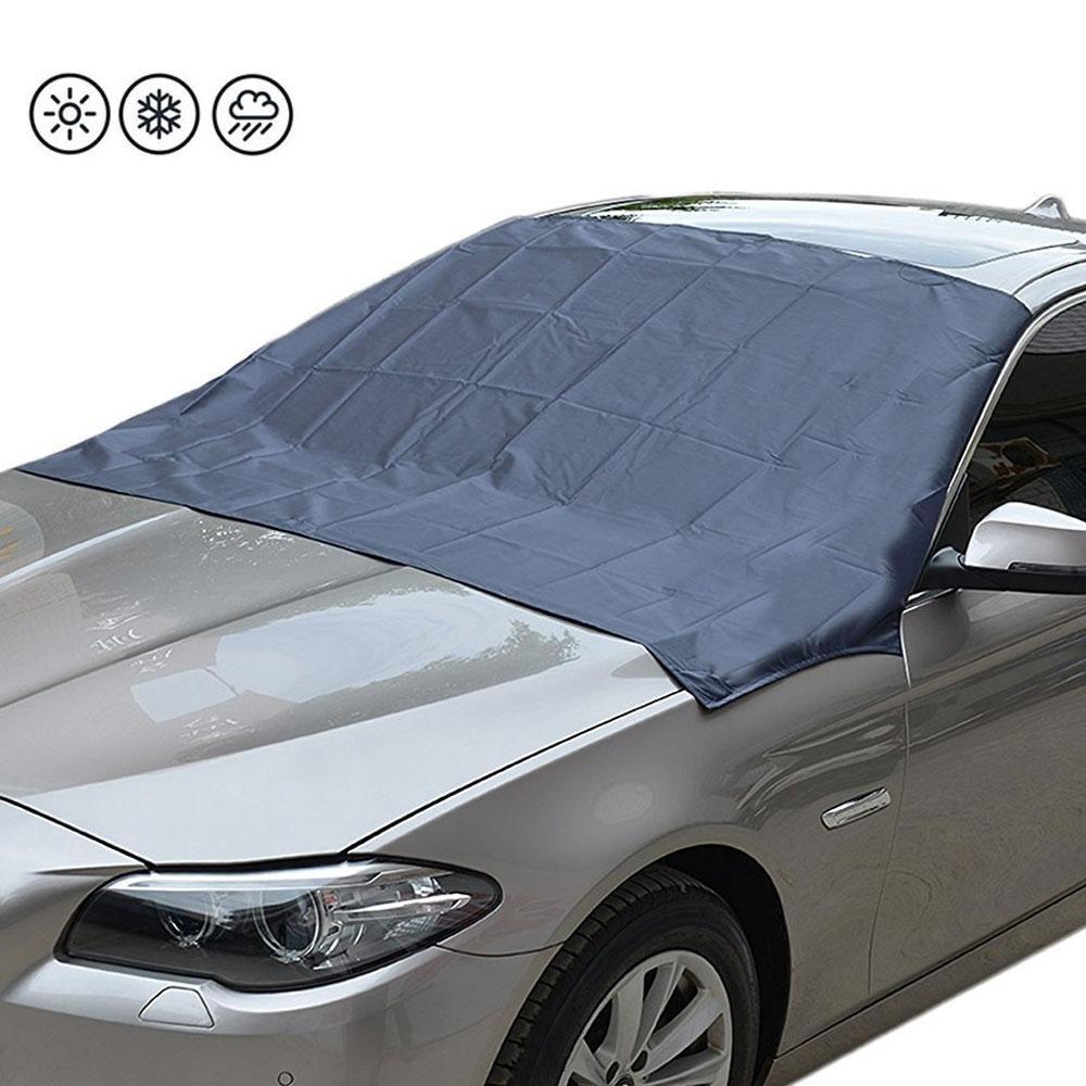 FOONEE auto parabrezza parasole Protector, magnetico auto parabrezza neve copertura, Ice/Frost Guard blocchi raggi UV parasole Protector, auto visiera Protector