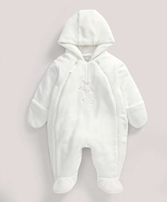 08f2c79b0 Mamas   Papas - Welcome to the World Fur Pramsuit  Mamas   Papas ...