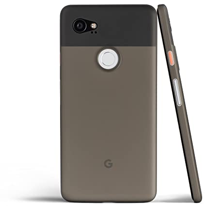 differently 445e6 f955f Pixel 2 XL Case, Thinnest Cover Premium Ultra Thin Light Slim Minimal  Anti-Scratch Protective - for Google Pixel 2XL | totallee (Grey)