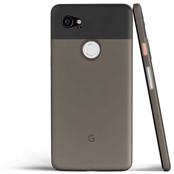 big sale 13099 825ac totallee Pixel 2 XL Case, Thinnest Cover Premium Ultra Thin Light Slim  Minimal Anti-Scratch Protective - for Google Pixel 2XL (Grey)