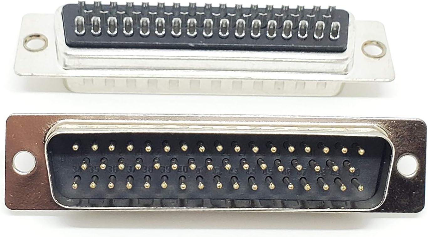 Crimp DDMAE50PK87 DB50 Plug DD 50 Contacts Steel Body DMA Series D Sub Connector