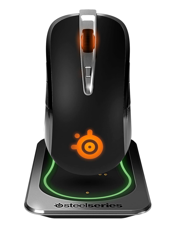 SteelSeries Sensei inalámbrico Ratón láser de juego iluminación RGB botones gestión de