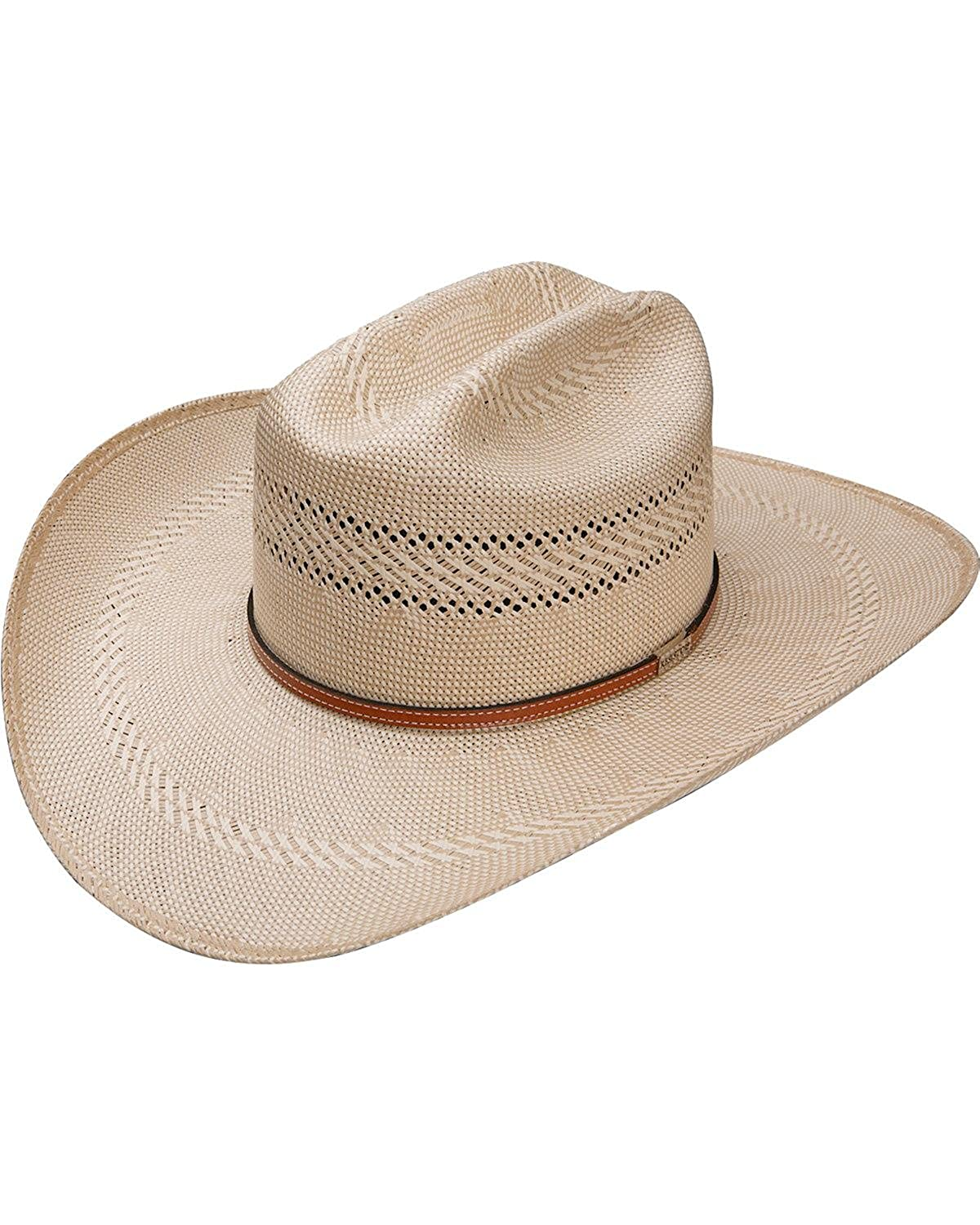 Resistol Men s Natural 50X Open Range Panama Straw Hat - Rsoprg-3042 at  Amazon Men s Clothing store  93a74286f06