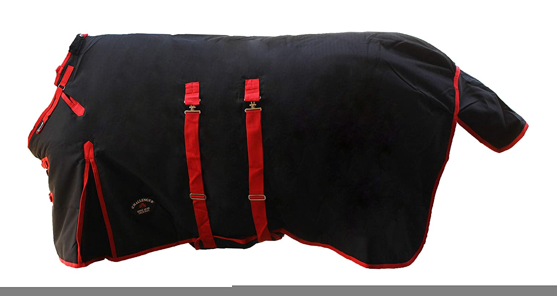 CHALLENGER 1200D Turnout Waterproof Horse Winter Blanket Heavy Bellyband 564B