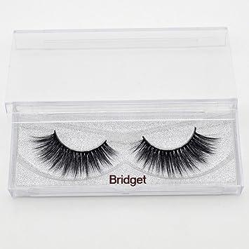 18e7b79a098 Amazon.com: 20 styles Visofree Mink Eyelashes Mink collection 3D Dramatic  Fake Eye Lashes Makeup Mink EyeLashes (Bridget): Beauty