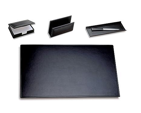 Accessori Per Scrivania Ufficio : Läufer ambiente modena 32164 set di 4 accessori da scrivania per