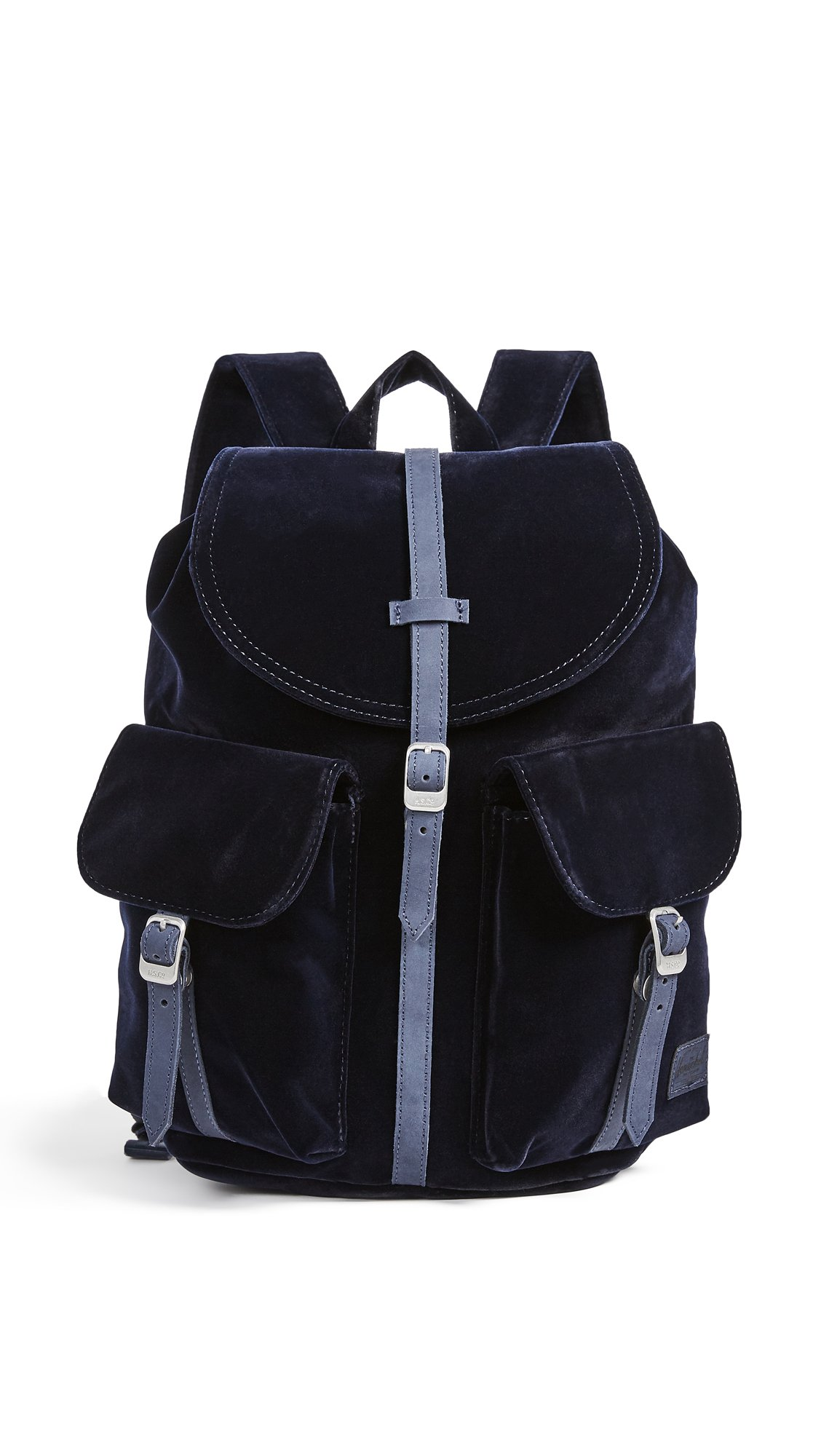 Herschel Supply Co. Women's Velvet Dawson Backpack, Peacoat, One Size