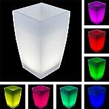 Amazon.de: Bloempot met LED verlichting
