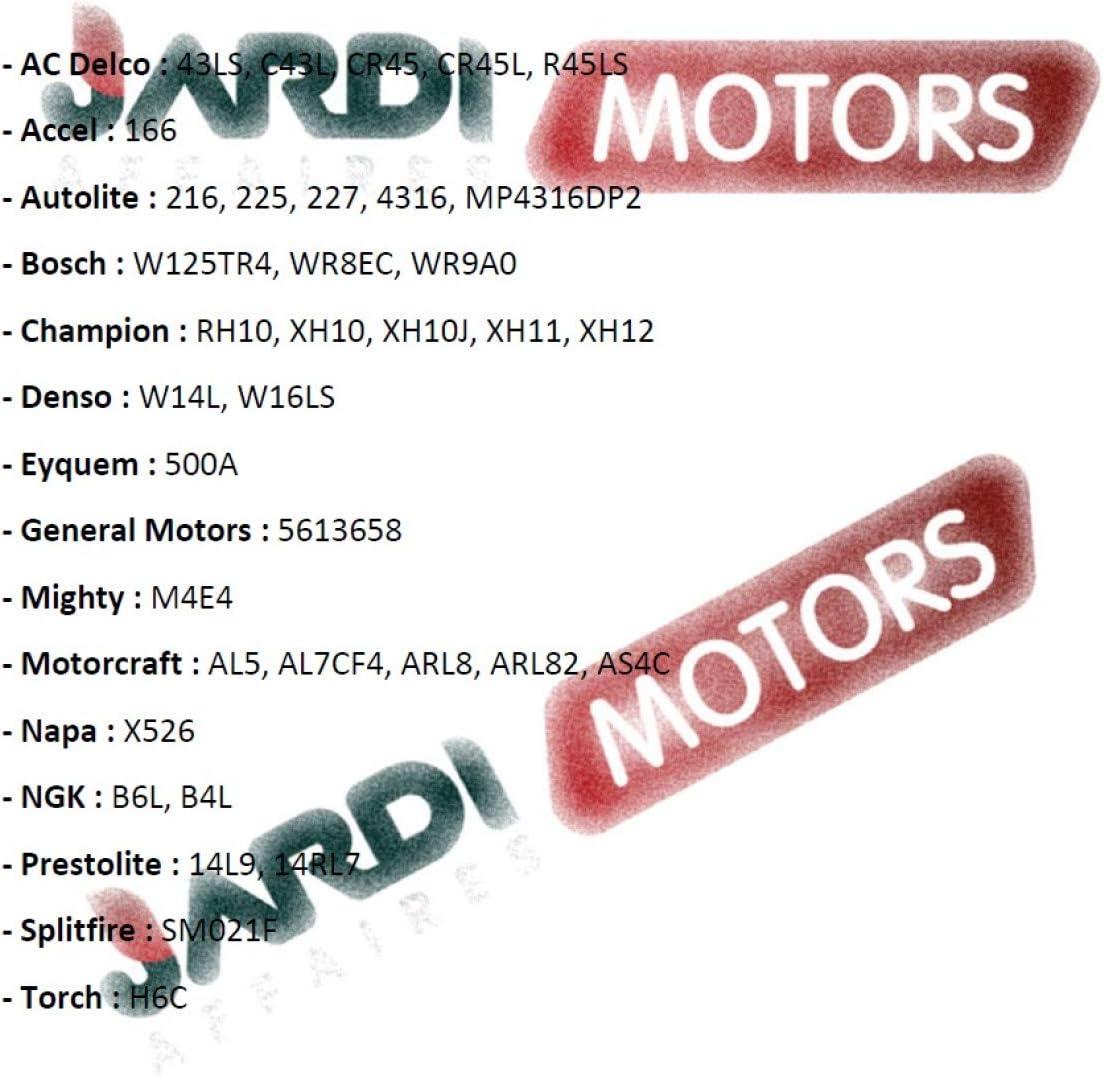 Jardiaffaires Bougie Champion RH10C pour Moteur Thermique