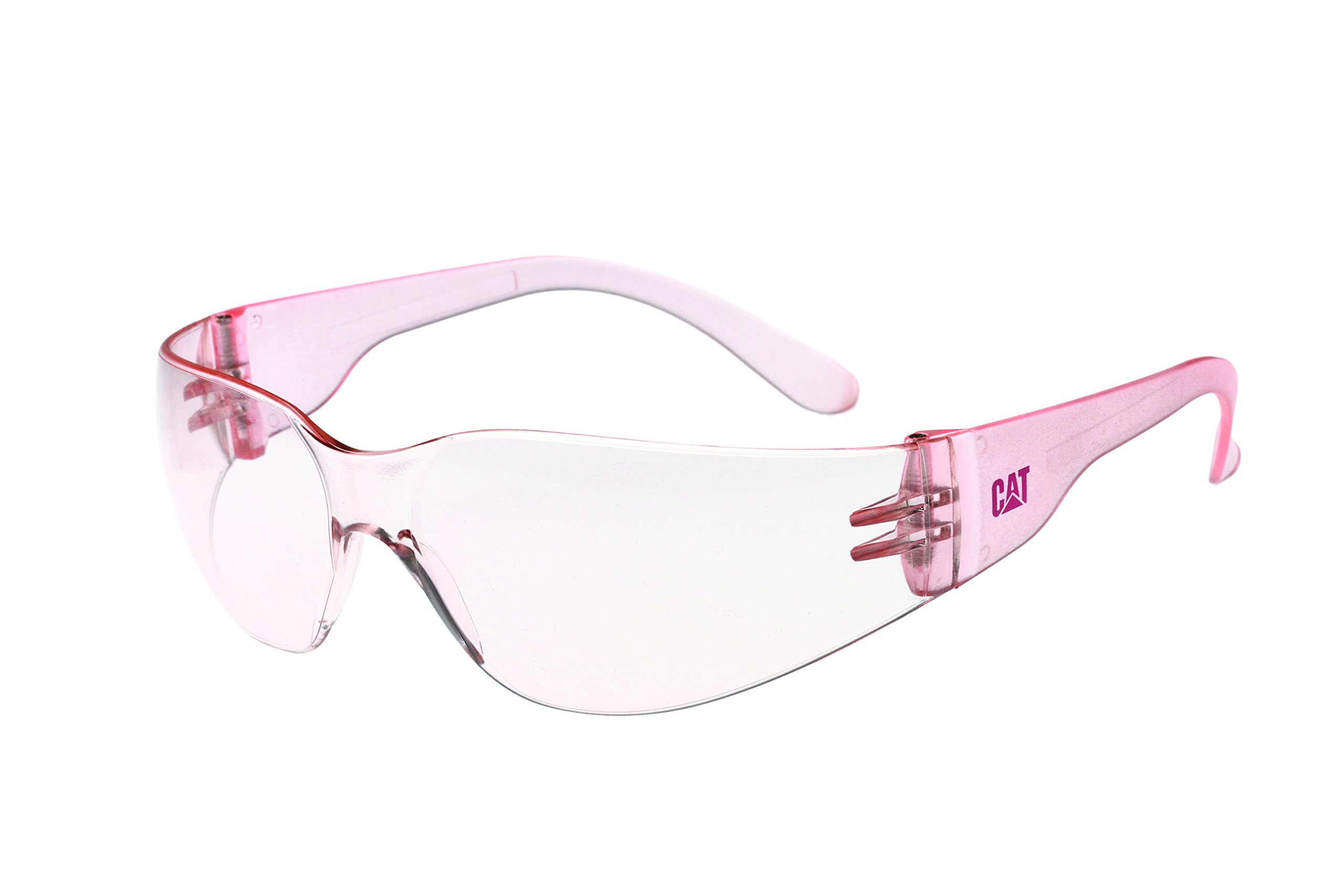 Caterpillar CSA-JET-172 Filter Category 2-1.2 Pink Lens Safety Glasses, Small