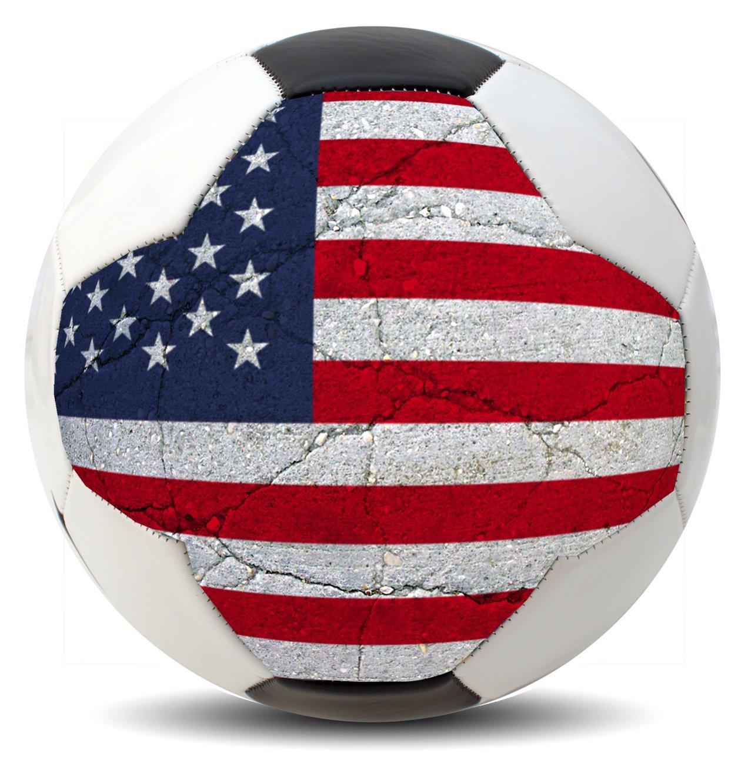 カスタマイズされた国コスタリカサッカーボール国際Copaワールドカップユーロリーグとアメリカのファン(アメリカ、ブラジル、メキシコ、ウルグアイ、アルゼンチン、チリ、コロンビア、、パナマ、スペイン、ドイツ、フランス、イギリス、ポルトガル、イタリア、オランダ、ベルギーand More ) B01FY8CA7SAmerica