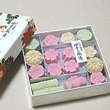 和三盆糖 干菓子 【四季の風情】 (1箱)