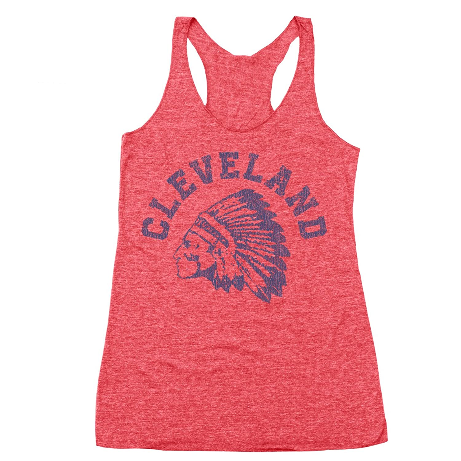 1920 Indian Chief Racer Back Tri-Blend Tank Top