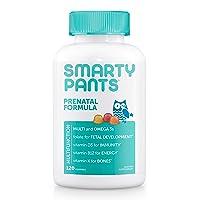 SmartyPants Prenatal Formula Daily Gummy Multivitamin: Vitamin C, D3, & Zinc for...
