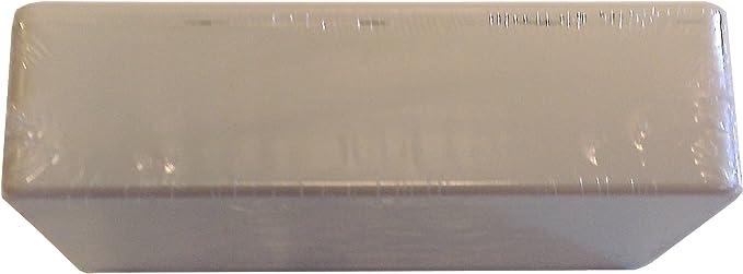 Inches 1591BSGY-HAMMOND/_IT Hammond 1591BSGY Grey ABS Plastic Project Box mm 4.4 x 2.4 x 1.1 112mm x 62mm x 27mm