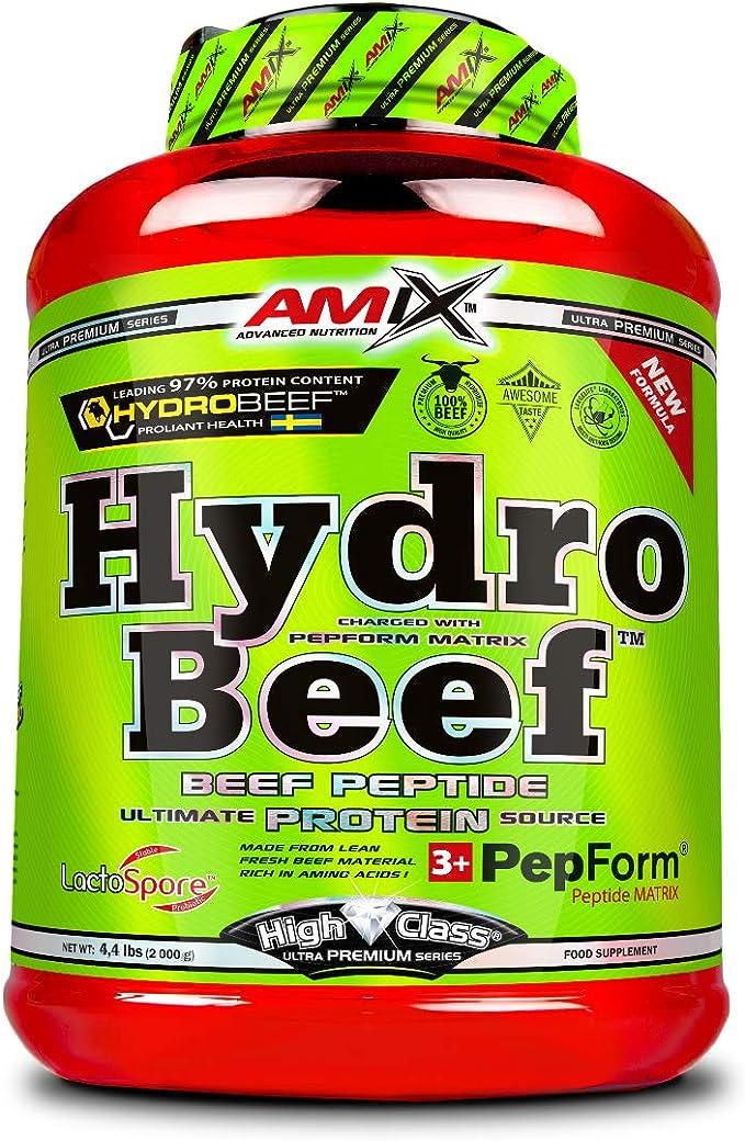 Amix Hydrobeef Protein 2 Kg: Amazon.es: Salud y cuidado ...
