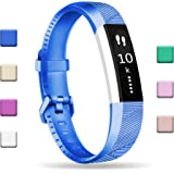 Fundro Fitbit Alta HR Bands, Newest Sport Replacement Wristbands Large Small with Secure Metal Buckle for Fitbit Alta HR/Fitbit Alta