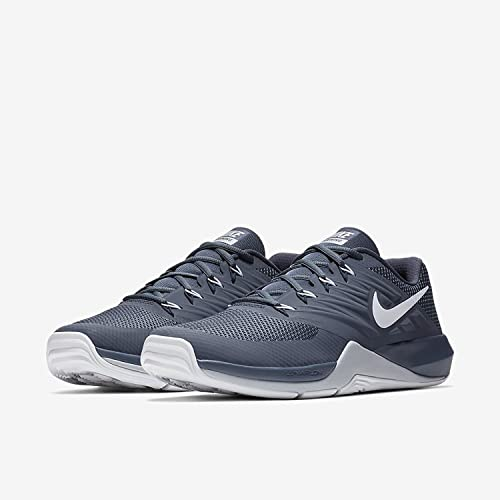 new arrival 527c6 e854f Nike Men s Lunar Prime Iron Ii ThunBl White Multisport Training Shoes-11  UK India(46 EU)(12 US) (908969-400)  Buy Online at Low Prices in India -  Amazon.in
