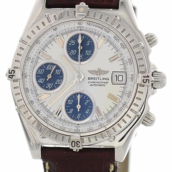 Breitling B Viento Auto Automático Reloj A13050 para Hombres: Breitling: Amazon.es: Relojes