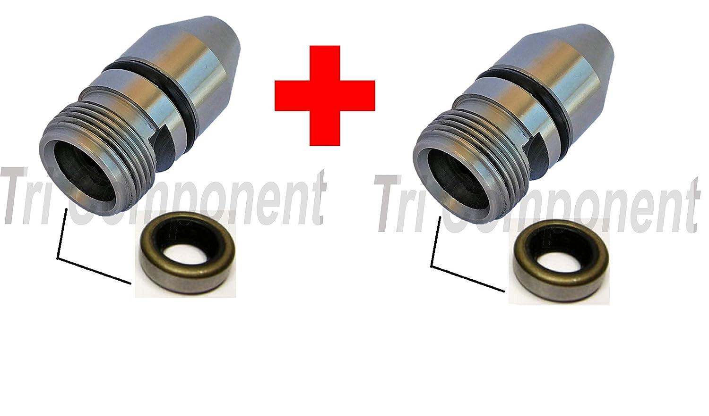2-Pack TH350//TH350C Housing Bullet Speedometer Speedo Sleeve Adapter TH-350//250