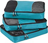 eBags Large Packing Cubes - 3pc Set (Aubergine)