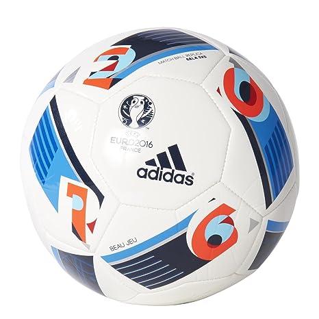 6e22f1eee Adidas - Pallone da Calcio Futsal UEFA Euro 2016 Beau Jeu, Taglia 5 ...
