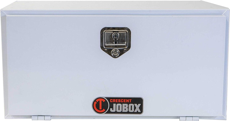 Jobox Crescent White Steel Underbed Box 30 x 24 x 24-7930240