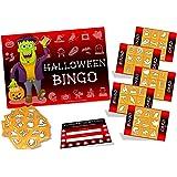 Halloween Party Game - HALLOWEEN BINGO - up to 20 players - Halloween gift