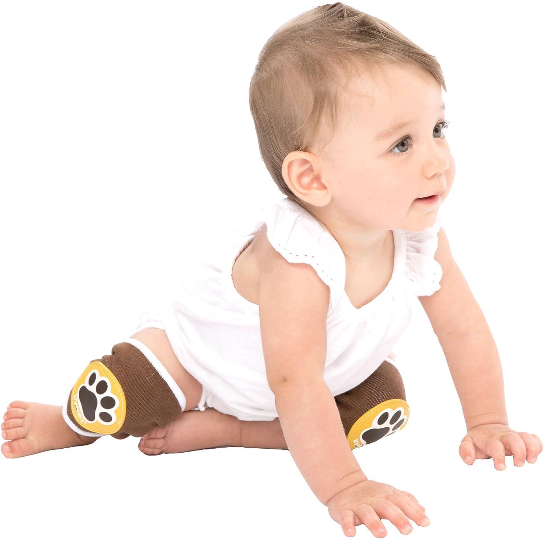 motivo zampe di animale colore: Blu grandi P//LRG Ah Goo Baby Kneekers KN-PAWS-12 - Ginocchiere da bambino