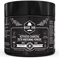 Moody Zook Activated Charcoal Teeth Whitening Toothpaste (Black)