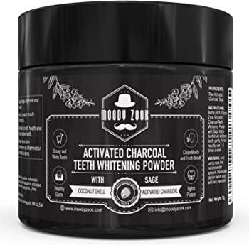 Moody Zook Activated Charcoal Teeth Whitening Toothpaste