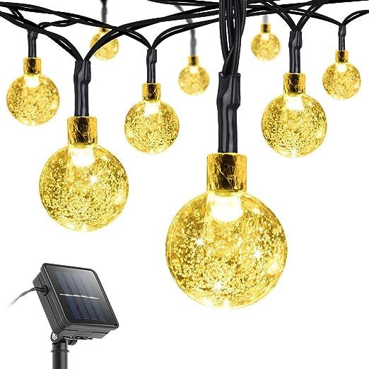 23 opinioni per Litom Catena Luminosa Luci della Stringa Solare 30 LED 6 metri per Festa,