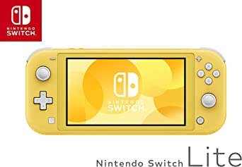 Nintendo Switch Lite - Yellow [Importación inglesa]: Amazon.es ...