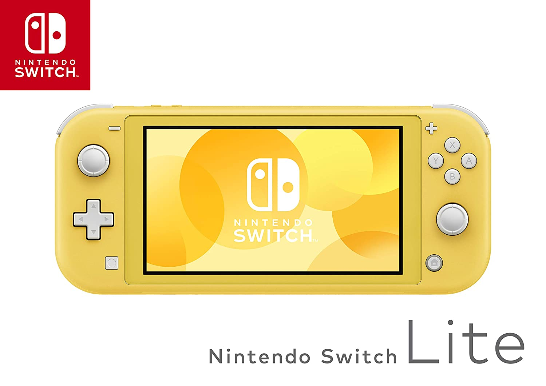 Amazon Com Nintendo Switch Lite Yellow Video Games