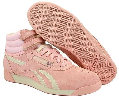 Reebok Freestyle Hi Pastel V45736 Damen Sneakers / Freizeitschuhe Rosa 41