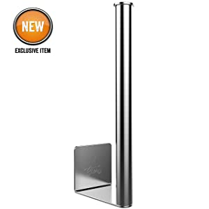 Yukon Glory YG-776 Magnetic Paper Towel Holder for Kitchen, Stainless Steel, Attaches to your Grill, Fridge, RV, Forklift and More, Ideal Gift Idea