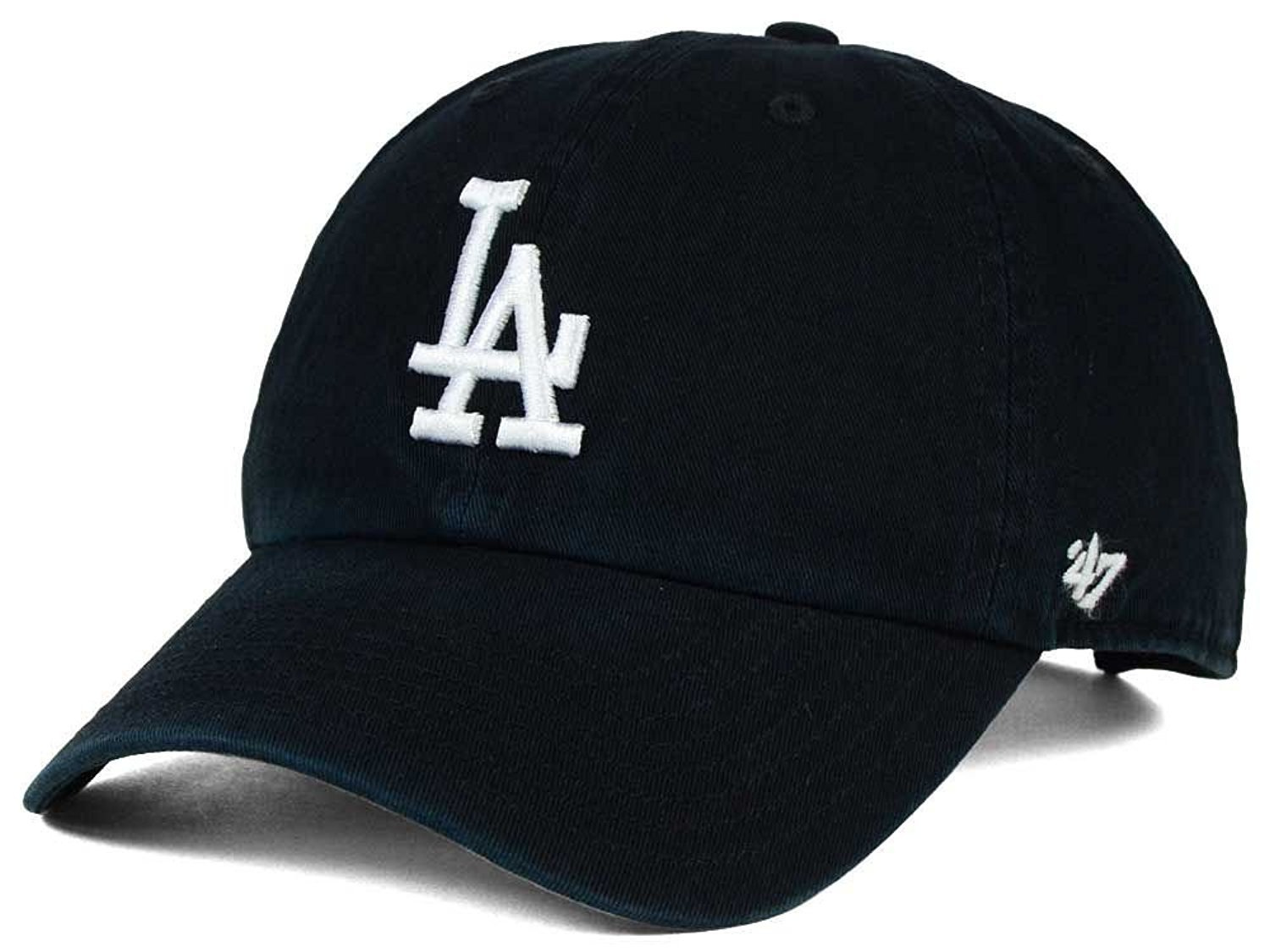 4e15b34da9772 Amazon.com   47 Brand MLB Los Angeles Dodgers Clean Up Cap - Dark Maroon   Clothing