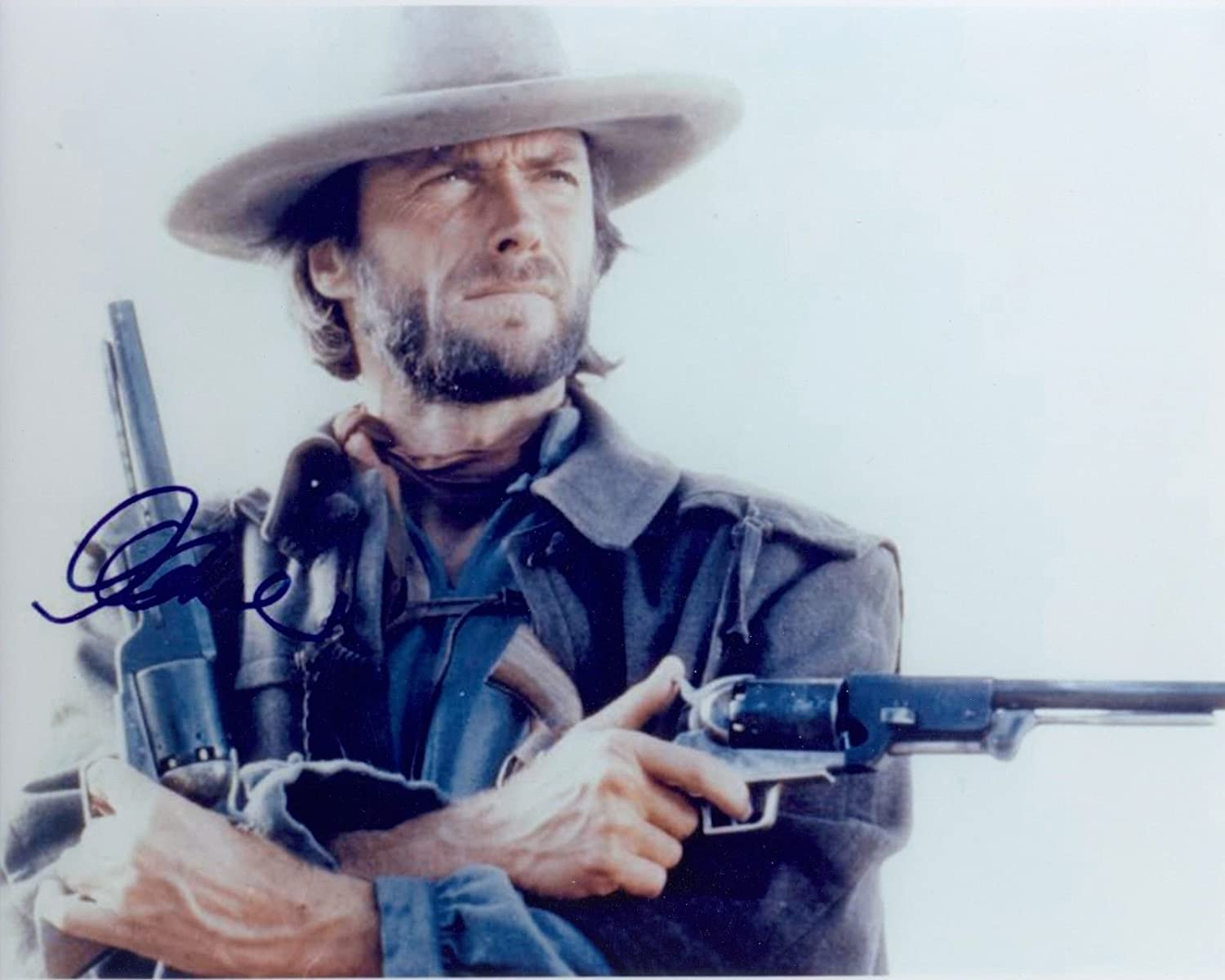 CLINT EASTWOOD - Reprint 8x10 inch Photograph - Dirty Harry The Outlaw of Josey Wales
