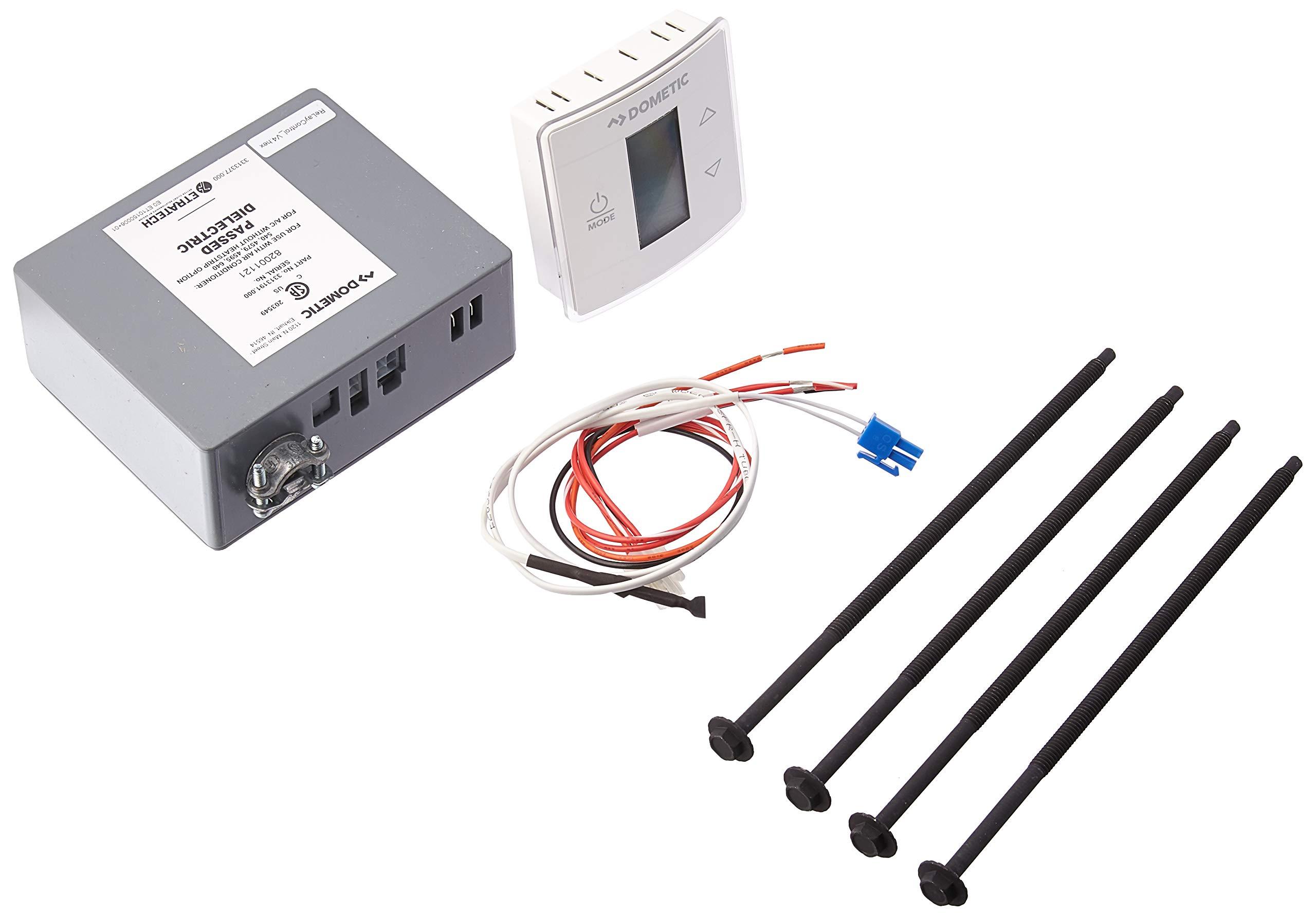 Dometic 3316230.000 Rv Thermostats(Ctrl Kit, Ct Std-C/F-Wht)