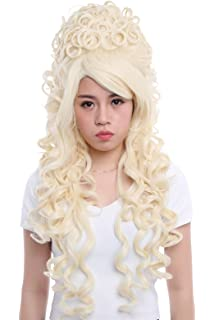 Nuoqi Womens California Marie Antoinette Hairs Wigs Cosplay Costume Wigs